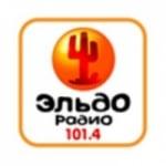 Logo da emissora Eldo-Radio 101.4 FM