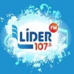 Logo da emissora Rádio Líder 107.5 FM