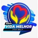 Logo da emissora Rádio Vida Melhor 95.7 FM