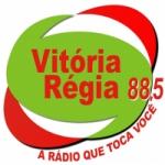 Logo da emissora Rádio Vitória Régia 88.5 FM