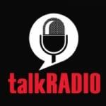 Logo da emissora Talk Radio