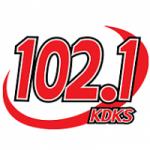 Logo da emissora Radio KDKS 102.1 FM