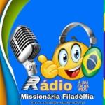 Logo da emissora Rádio Missionária Filadélfia