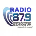 Logo da emissora Rádio Comunitária Olivedos 87.9 FM