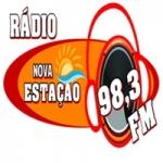 Logo da emissora Nova Estação FM