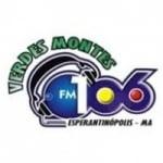 Logo da emissora Rádio Verdes Montes 106.3 FM