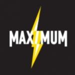 Logo da emissora Maximum 103.7 FM