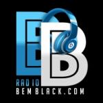 Logo da emissora Bem Black