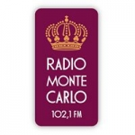 Logo da emissora Radio Monte Carlo 102.1 FM