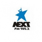 Logo da emissora Next 105.2 FM