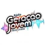Logo da emissora Rádio Geração Jovem 87.9 FM