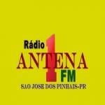 Logo da emissora Rádio Antena 1 Fm
