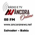 Logo da emissora Rádio Âncora News