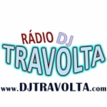 Logo da emissora Rádio Dj Travolta