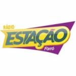 Logo da emissora Rádio Estação Forró