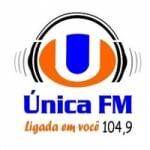 Logo da emissora Rádio Única 104.9 FM