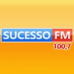 Logo da emissora Radio Sucesso 100.7 FM