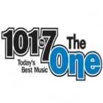 Logo da emissora Radio CKNX The One 101.7 FM