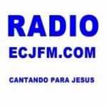 Logo da emissora Rádio ECJ FM