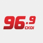 Logo da emissora Radio CKOI 96.9 FM