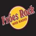 Logo da emissora Fróes Rock