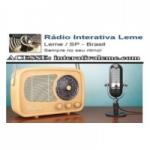Logo da emissora Rádio Interativa Leme