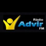 Logo da emissora Rádio Advir FM