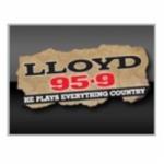 Logo da emissora Radio CKSA Lloyd 95.9 FM