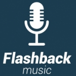 Logo da emissora Rádio Flashback Music