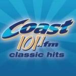 Logo da emissora Radio CKSJ Coast 101.1 FM