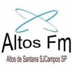 Logo da emissora Altos FM