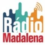 Logo da emissora Rádio Madalena FM