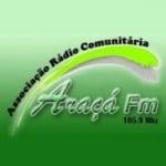 Logo da emissora Rádio Araçá 105.9 FM