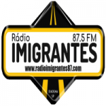 Logo da emissora Rádio Imigrantes 87.5 FM