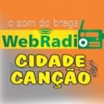 Logo da emissora Rádio Cidade Canção
