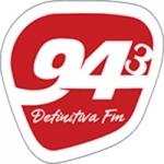 Logo da emissora Rádio Definitiva
