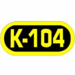 Logo da emissora Radio KJLO K 104.1 FM