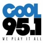 Logo da emissora Radio CKUE Cool 95.1 FM