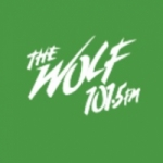 Logo da emissora Radio CKWF The Wolf 101.5 FM
