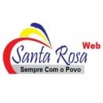 Logo da emissora Rádio Santa Rosa Web