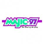 Logo da emissora Radio KJMG Majic 97.3 FM