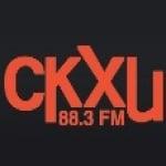 Logo da emissora Radio CKXU 88.3 FM