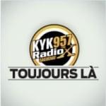 Logo da emissora Radio CKYK 95.7 FM
