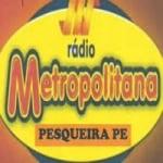 Logo da emissora Metropolitana de Pesqueira