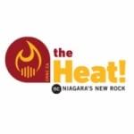 Logo da emissora Radio CRNC The Heat 90.1 FM