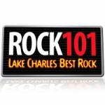 Logo da emissora Radio KKGB Rock 101.3 FM