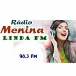 Logo da emissora Rádio Menina Linda 98.3 FM