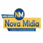 Logo da emissora Rádio Nova Mídia