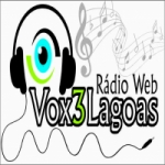 Logo da emissora Vox 3 Lagoas