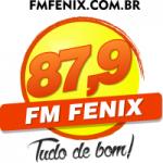 Logo da emissora Rádio Fenix 87.9 FM